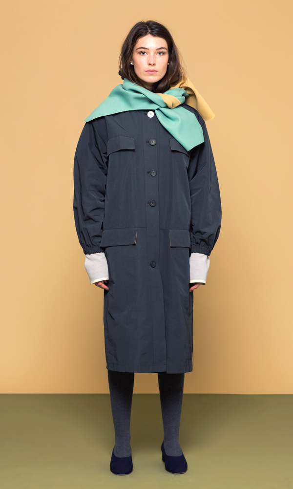 JC Hoodi Trench Coat