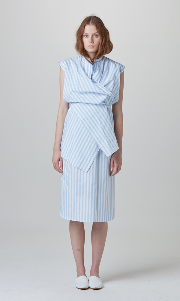 Picnic Stripe Dress