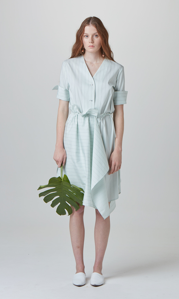 Forest Shirt Dress