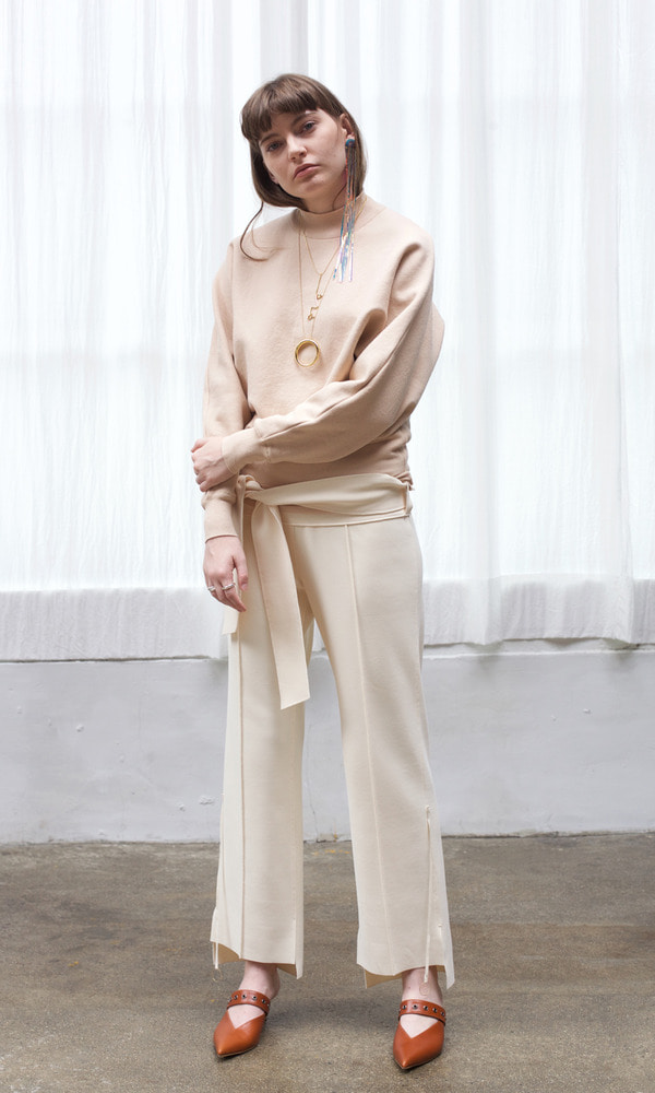 Gold Ring Straight Trouser