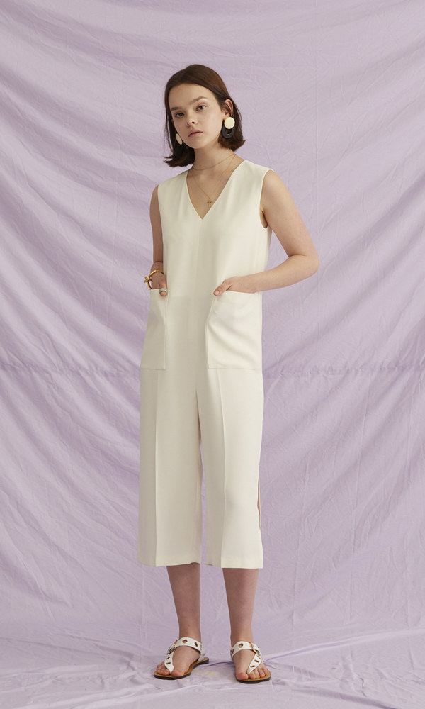 Minimal Pocket Jumpsuit (1차 리오더)