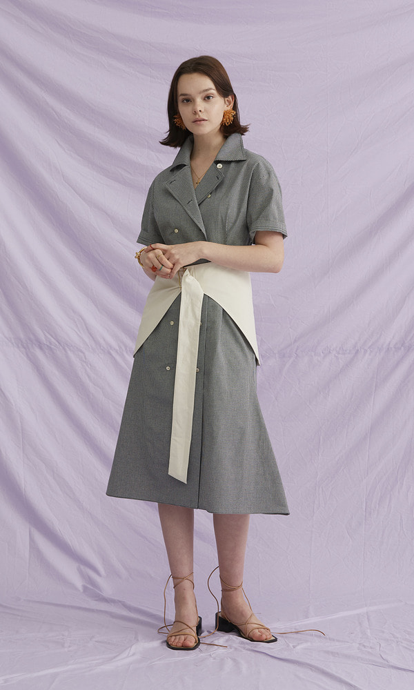 Hip Skirt Belt Dress (1차 리오더)