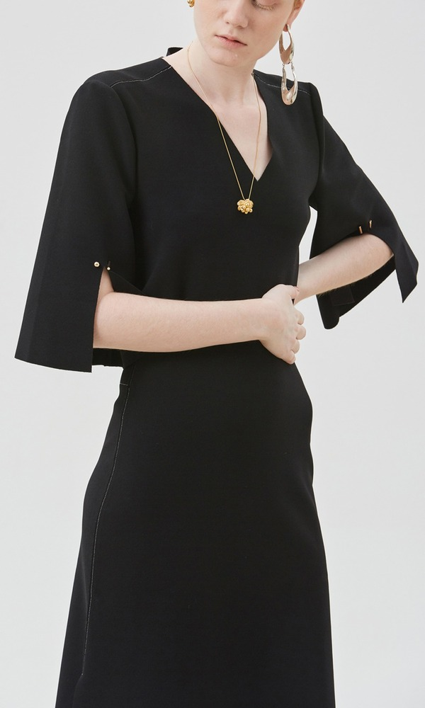 Lounge Jersey Dress (Middle Length Sleeve)