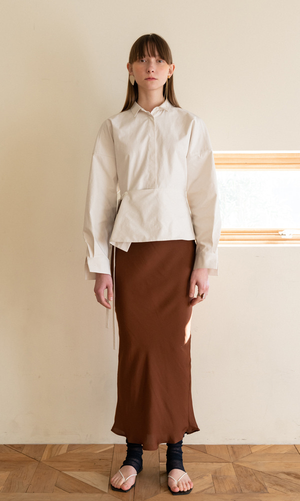 Salang Skirt_Brown (8차 리오더)