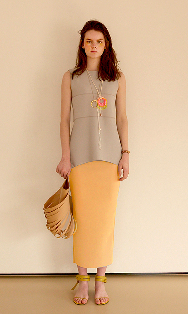 Pencil Long Skirt