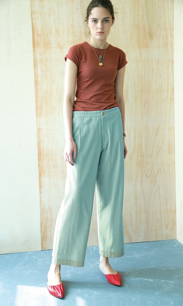 Rimini Comfortable Pants_Mint (1차 리오더)