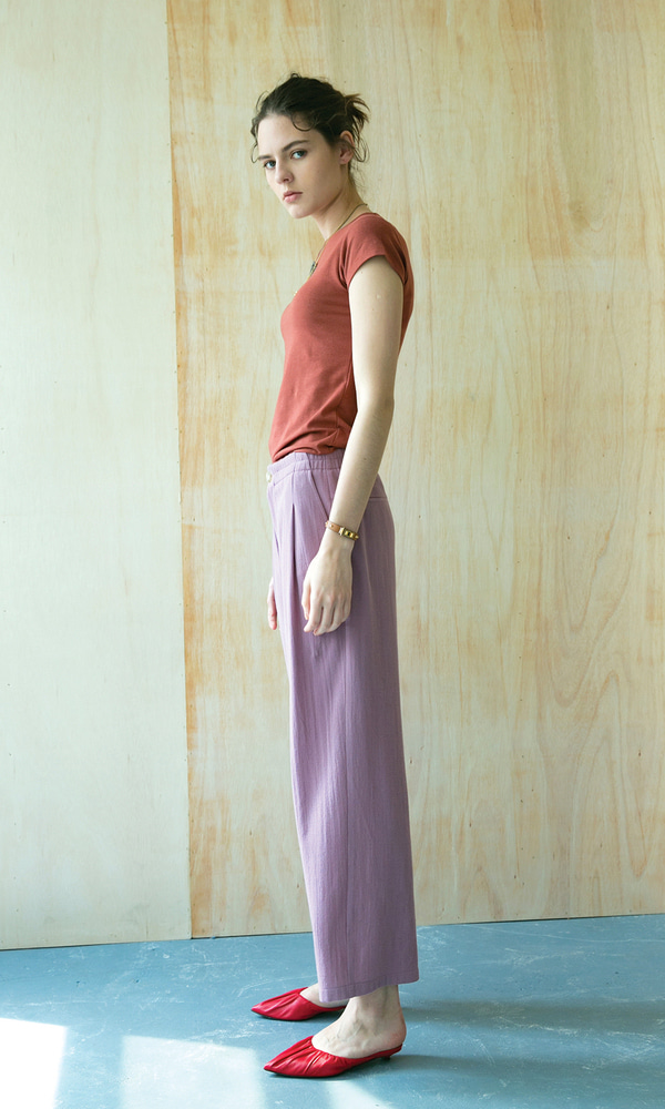 Rimini Comfortable Pants_Lilac (2차 리오더)