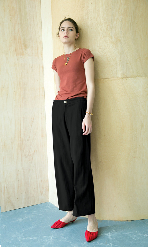 Rimini Comfortable Pants_Black (2차 리오더)