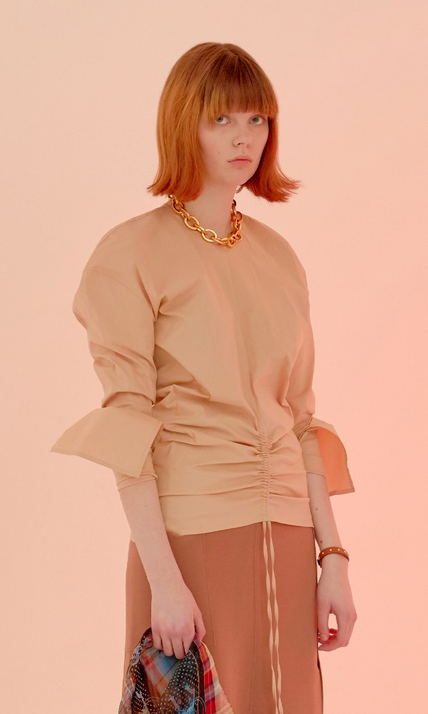 Shring Blouse_Beige