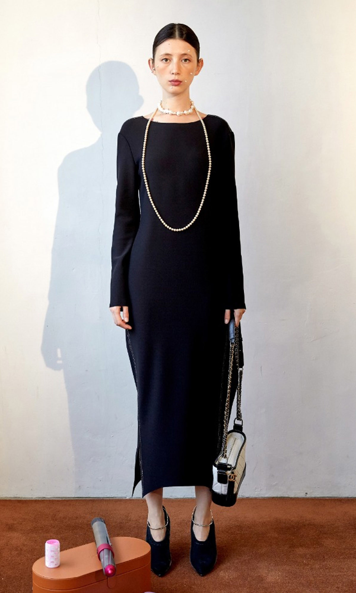 Corso Essential Long Dress_Black