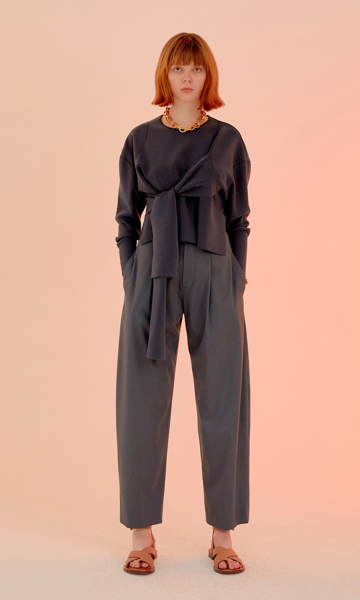 Foren Round Trouser_Charcoal