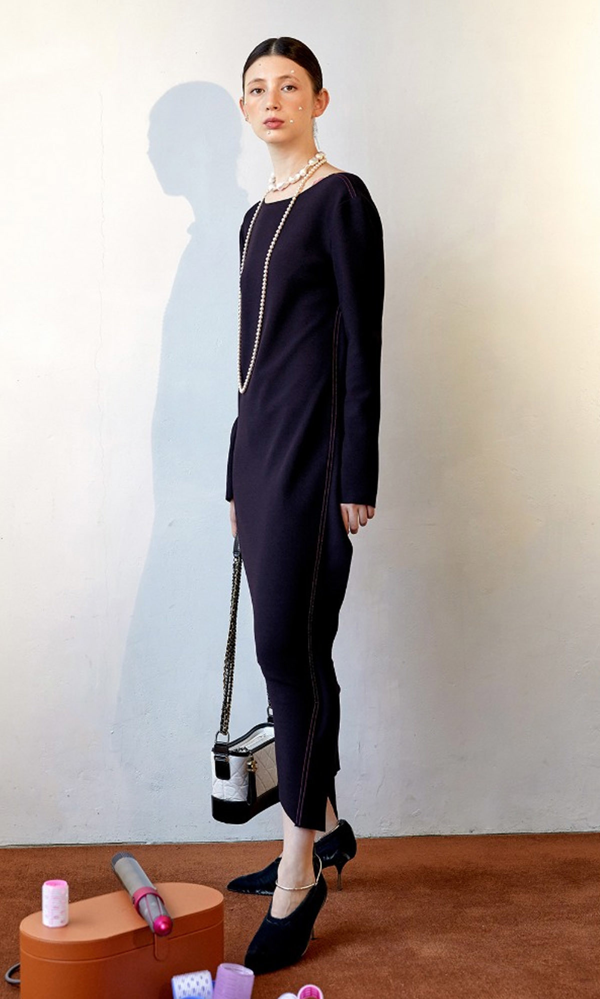 Corso Essential Long Dress_Navy