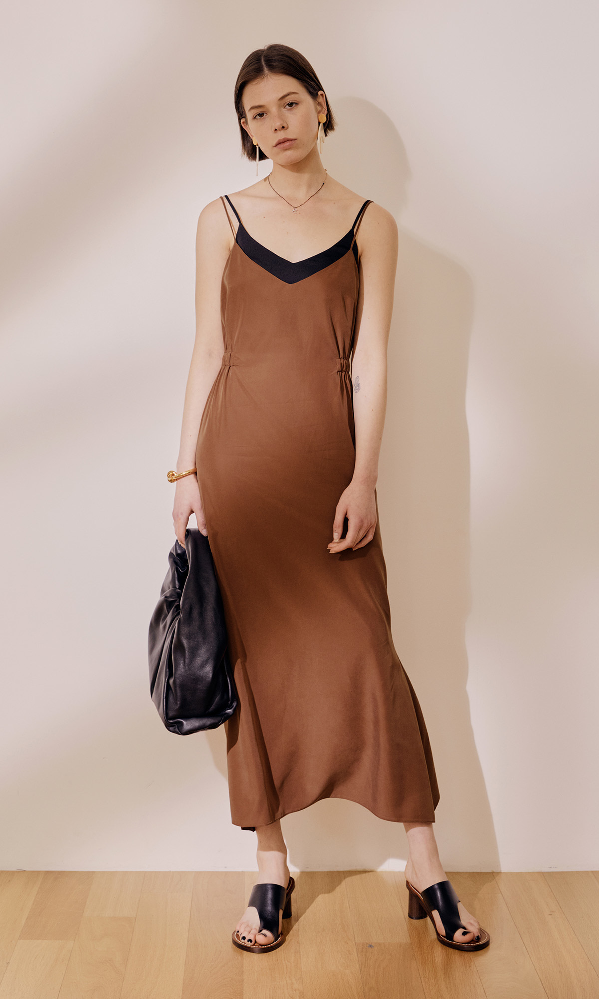 Turin Dress_Brown