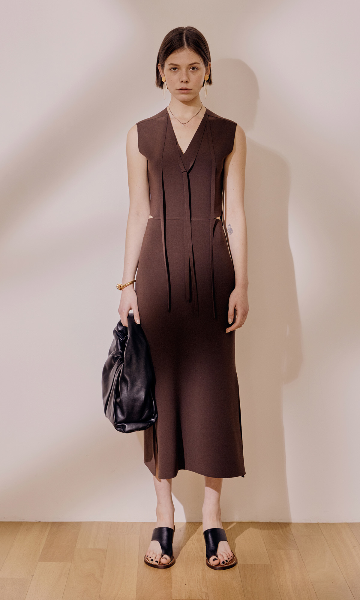 Agnes Dress_Choco Brown