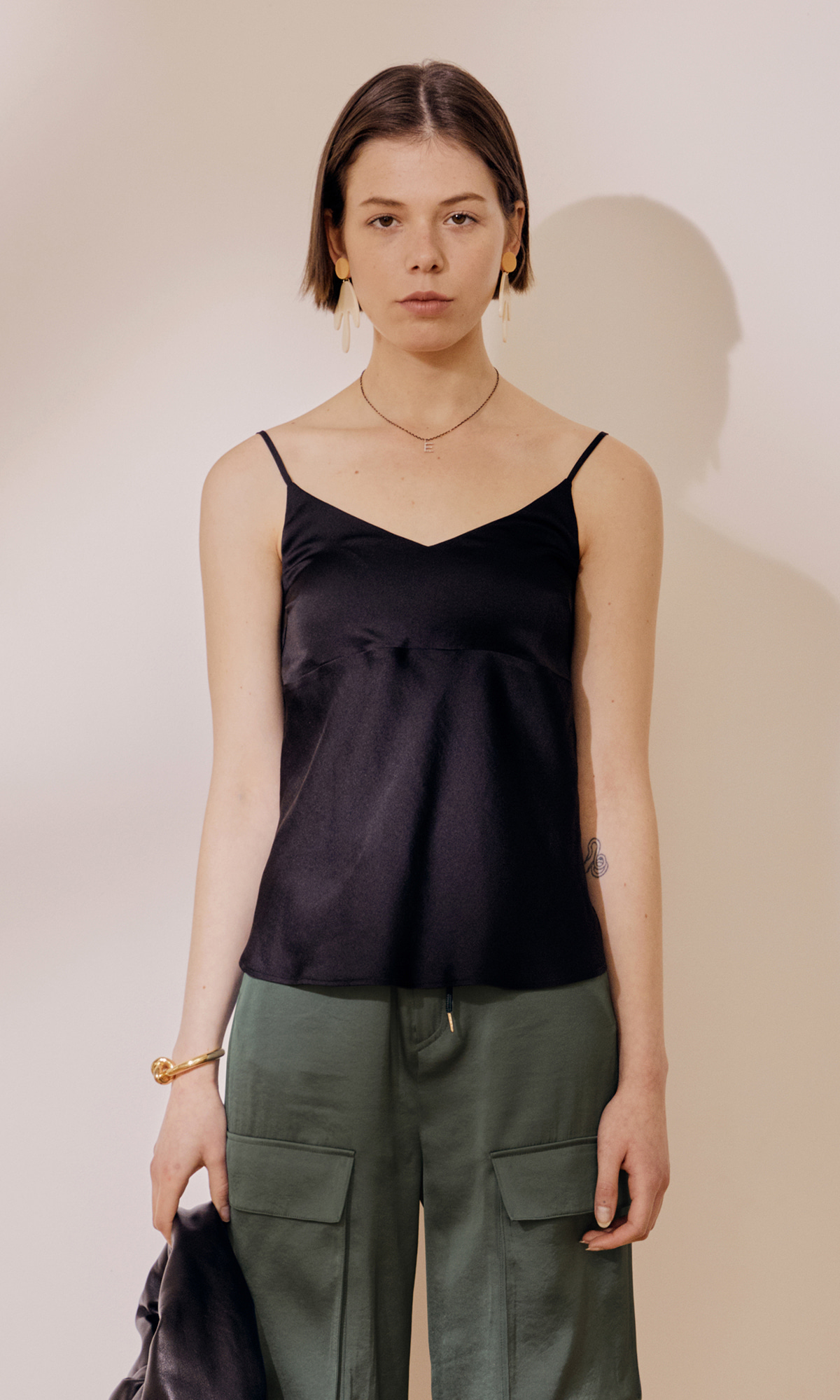 Meer Sleeveless Top_Black