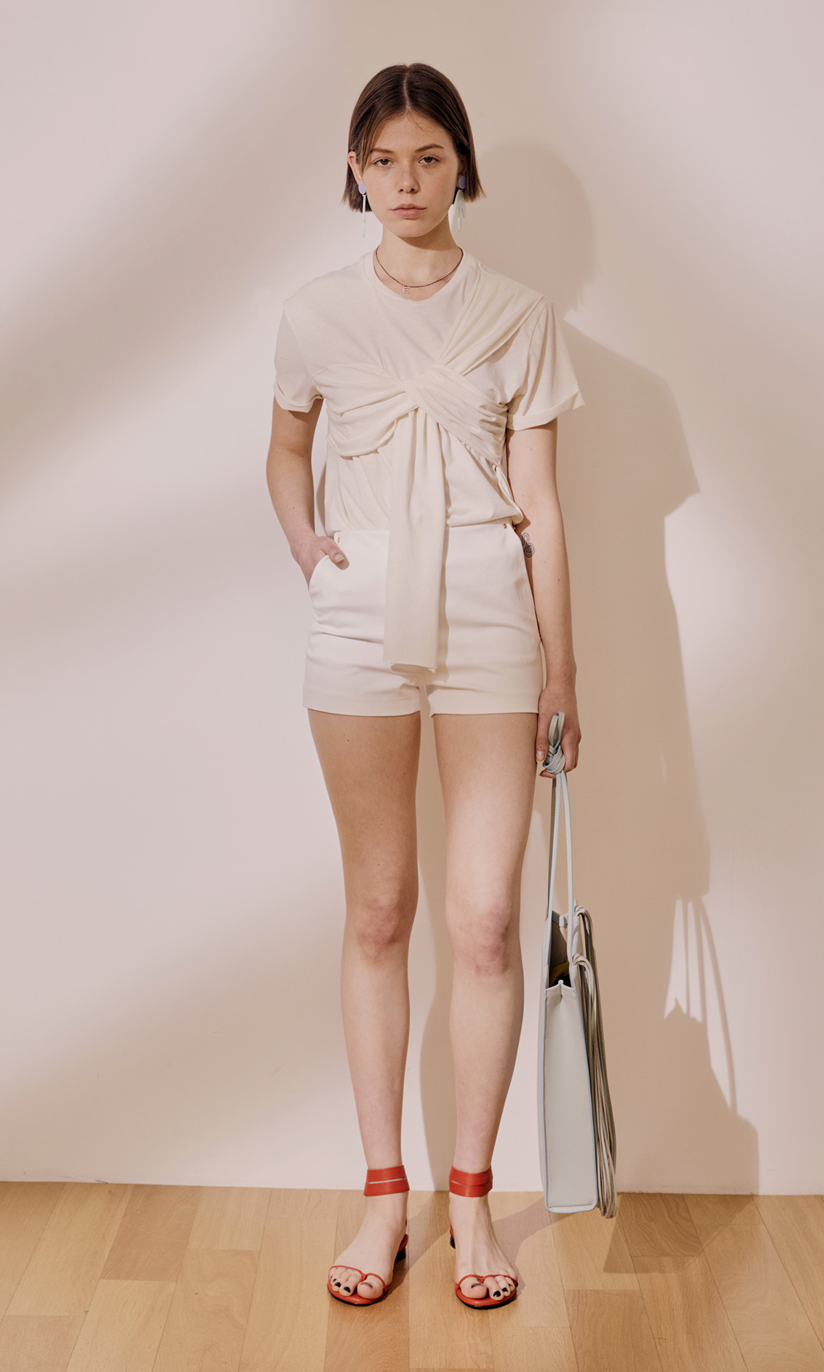 Sixties Shorts_White