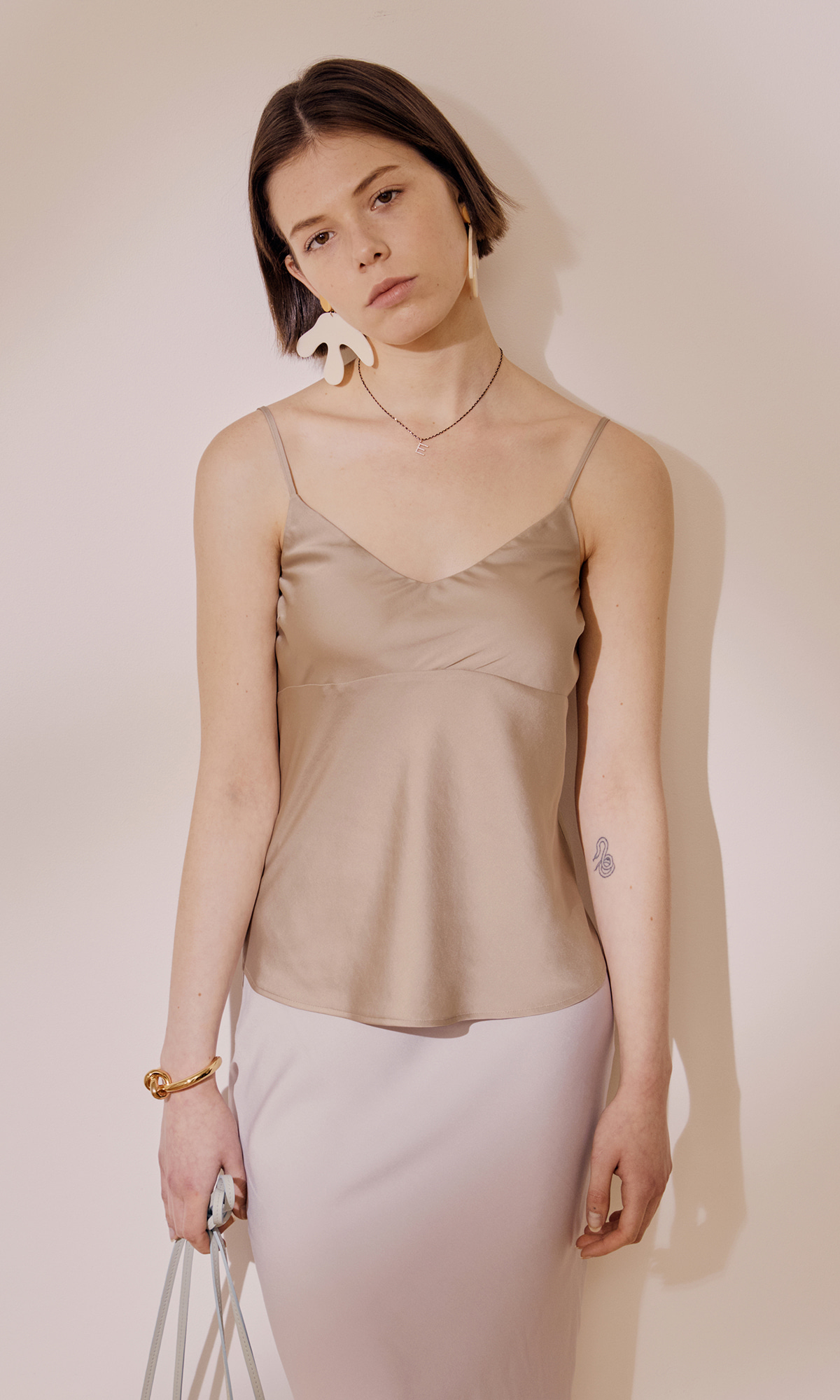 Meer Sleeveless Top_Beige