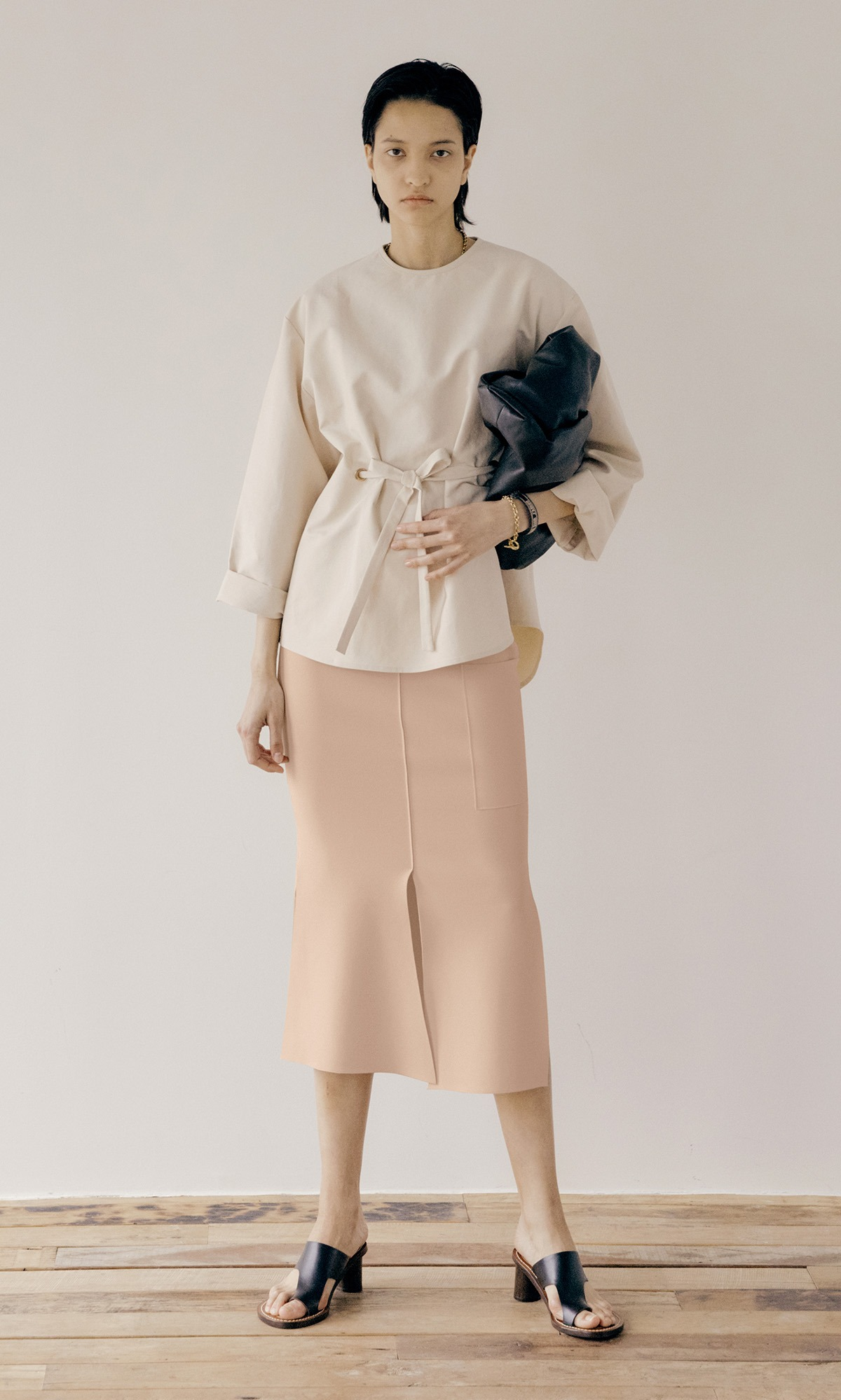 Windy Pocket Skirt 20_Cream Pink (1차 리오더)