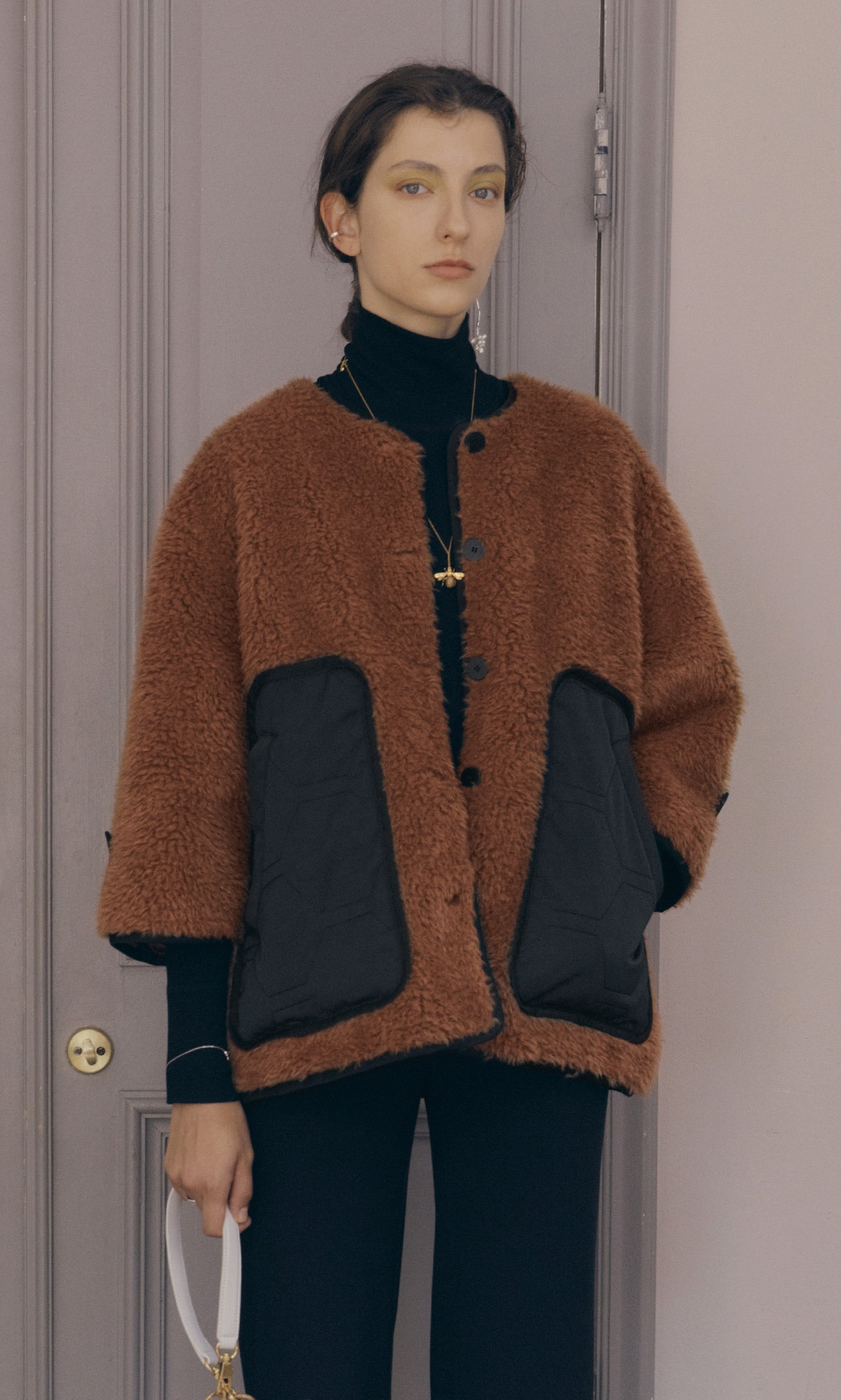 Teddy Eco Shearling Jacket_Teddy Bear