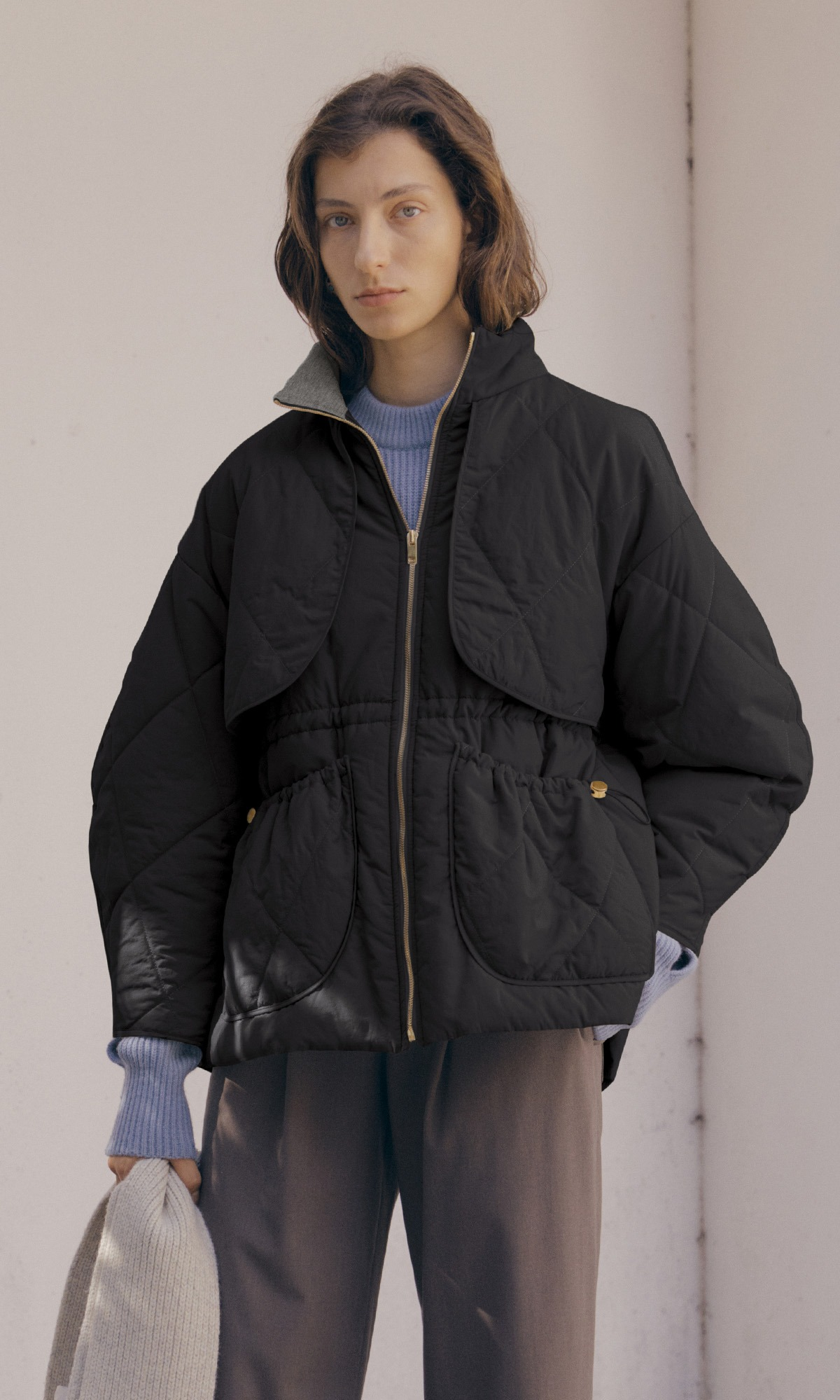 Dico Padded Coat_Black (3차 리오더)