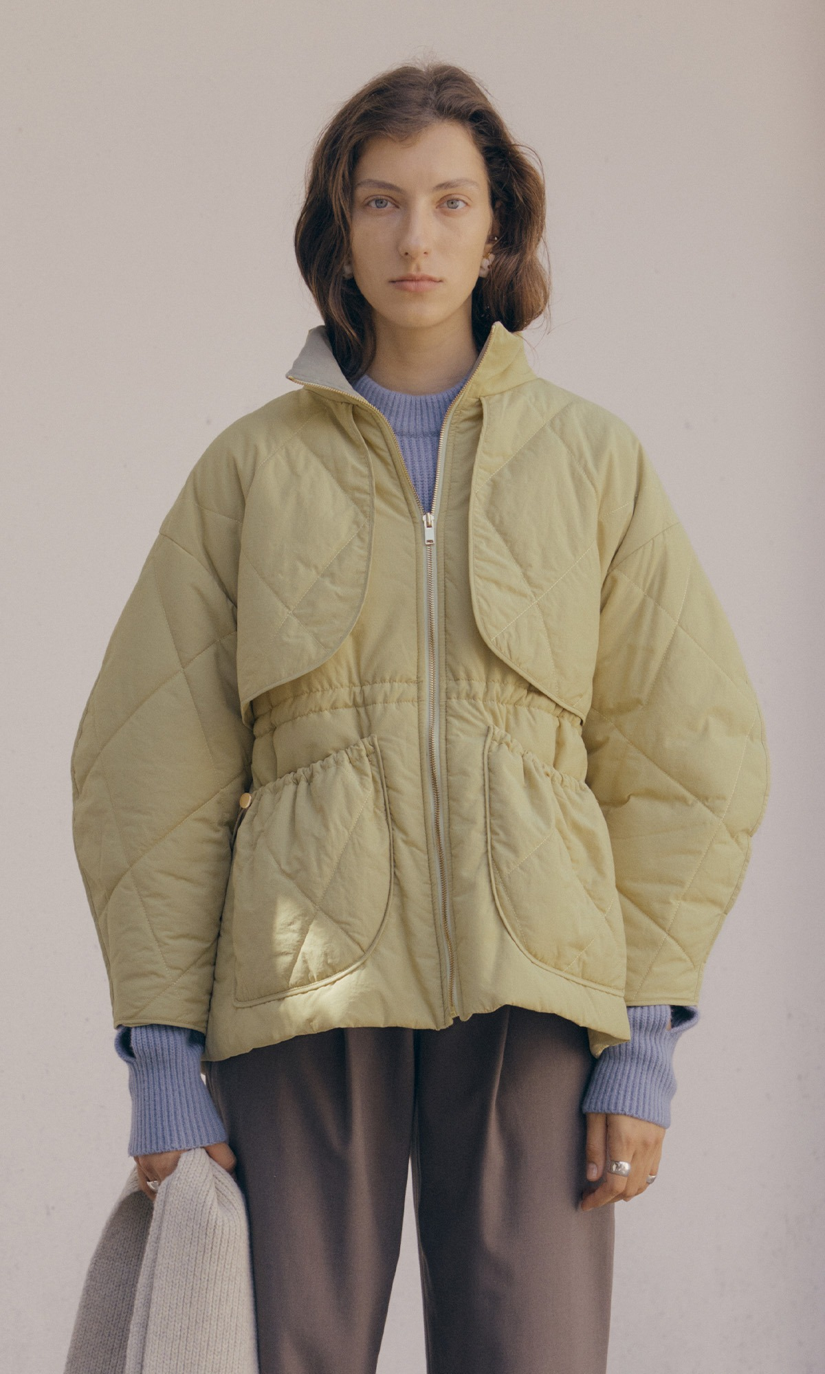 Dico Padded Coat_Linden Green (2차 리오더)