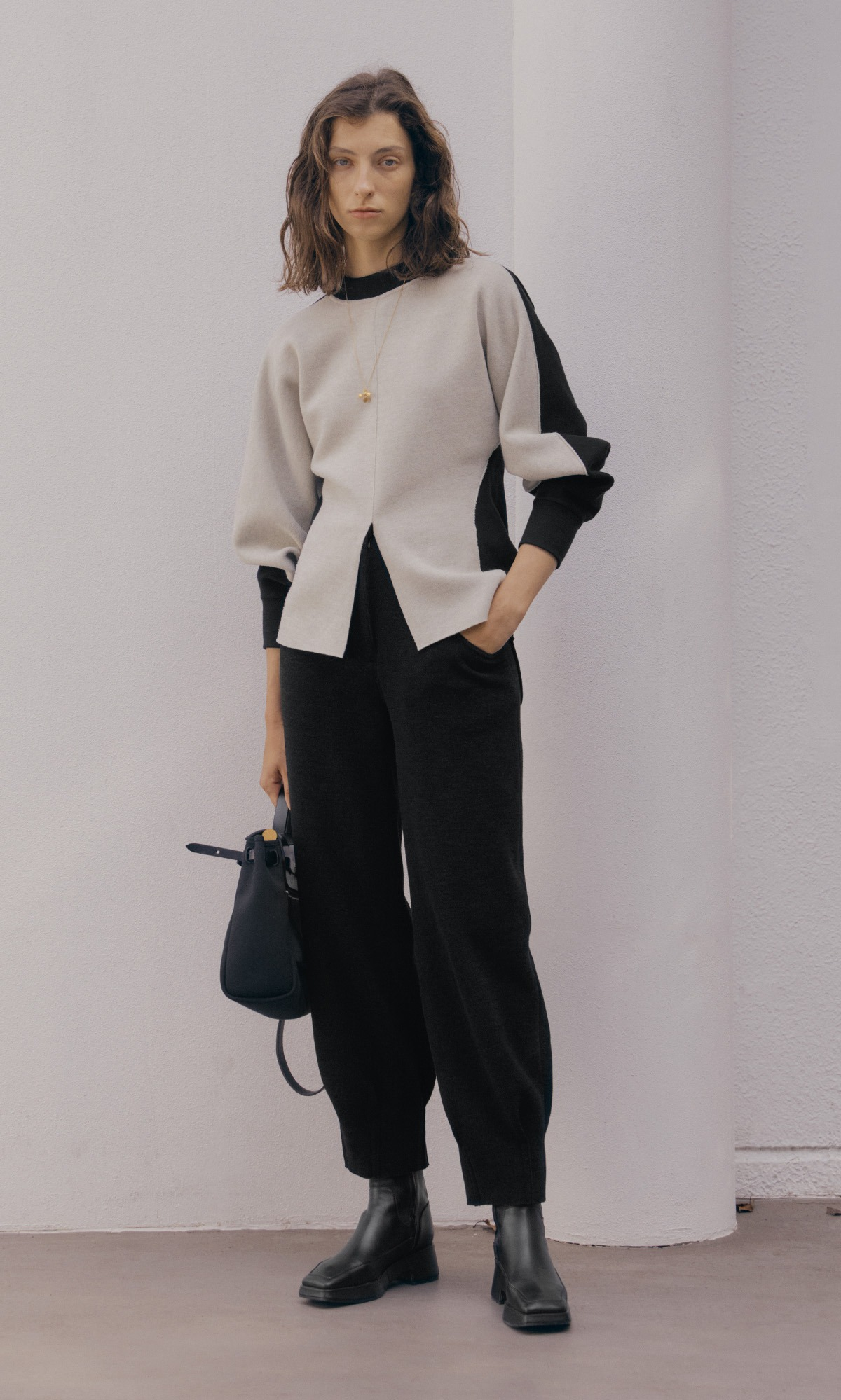 Loy Knit Trouser_Black