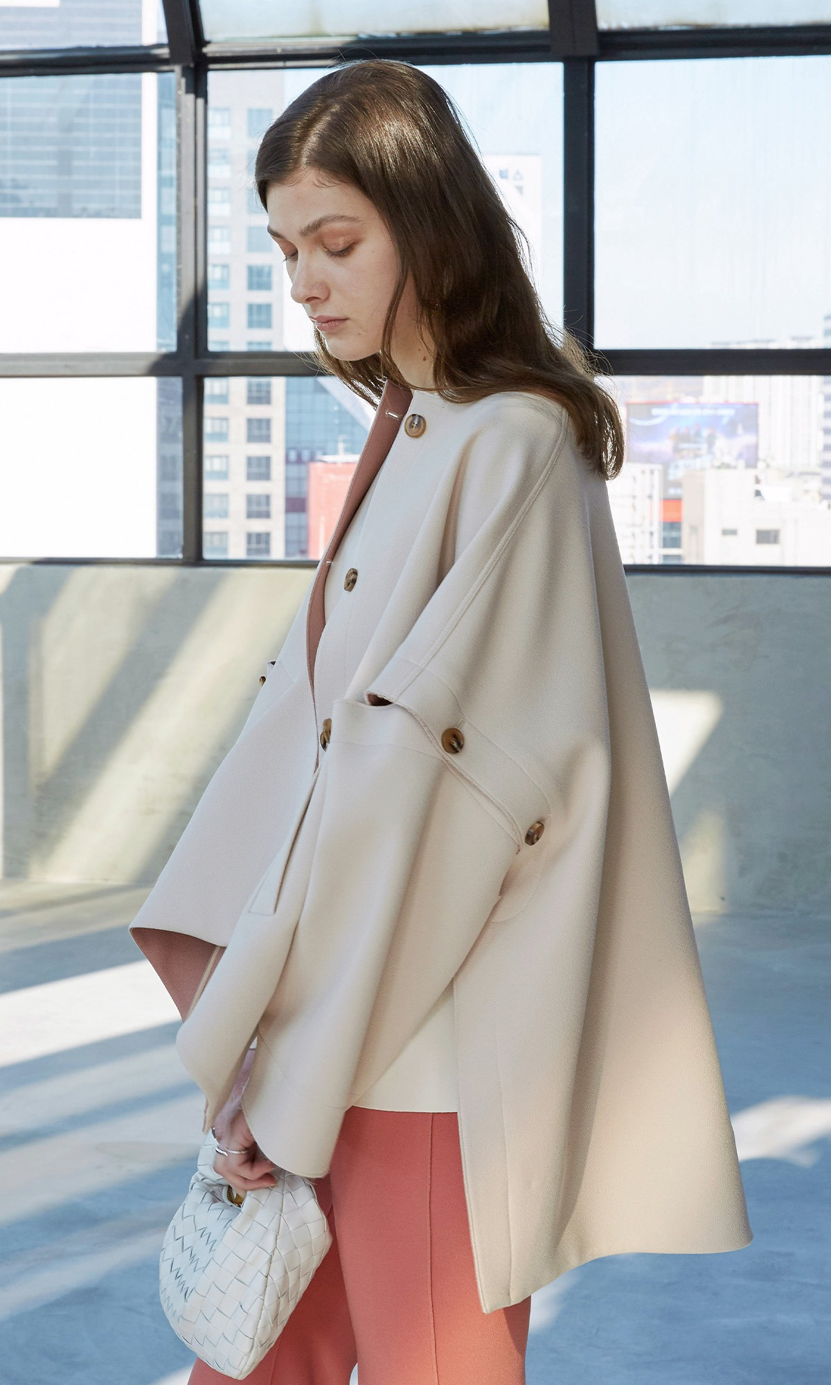 [Collection Line] Mond Button Coat_Beige (1차 리오더)